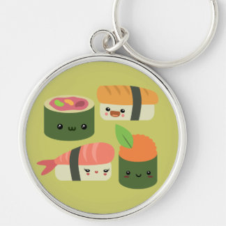 Sushi Friends Keychain