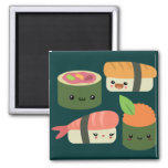 Sushi Friends Magnets