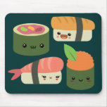 Sushi Friends Mouse Pads