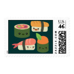 Sushi Friends Postage Stamp