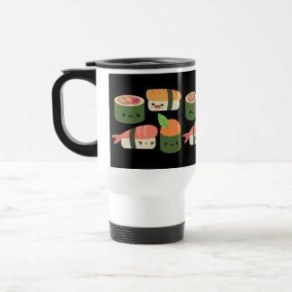 Sushi Friends Travel Mug