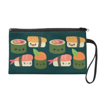 Sushi Friends Wristlet Purse