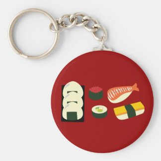 Sushi Fun Keychain