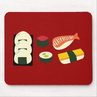 Sushi Fun Mouse Pad