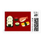 Sushi Fun Postage Stamp