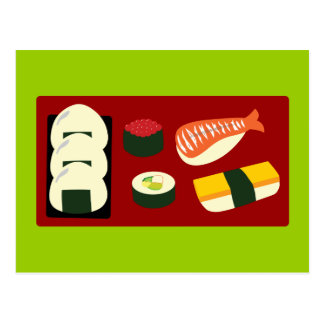 Sushi Fun Post Card