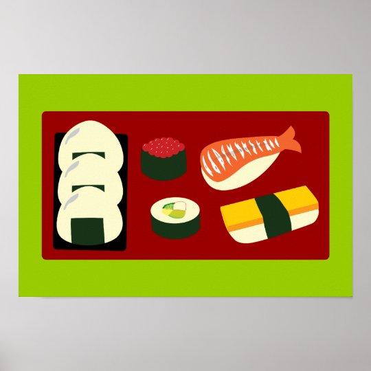 Sushi Fun Poster