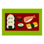 Sushi Fun Print