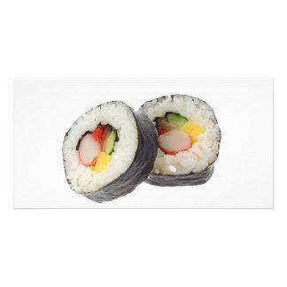 Sushi - Futomaki Personalized Photo Card