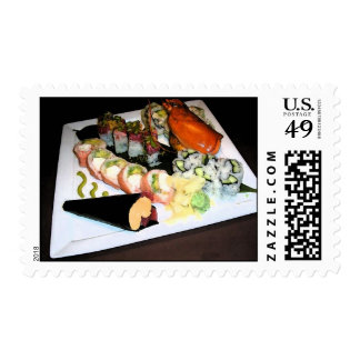"""Sushi"" Genunie US Postage Stamps"