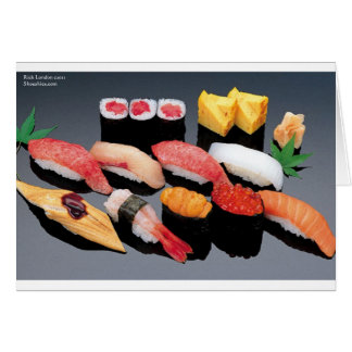 Sushi Gifts Tees Mugs Cards & More! Greeting Cards