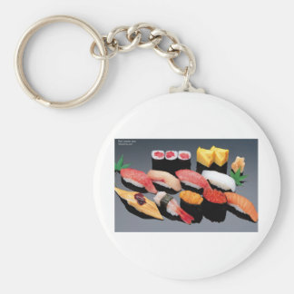 Sushi Gifts Tees Mugs Cards & More! Keychain