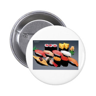Sushi Gifts Tees Mugs Cards & More! Pinback Button
