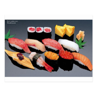 Sushi Gifts Tees Mugs Cards & More! Postcards
