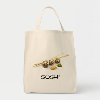 Sushi Grocery Tote Grocery Tote Bag