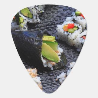 Sushi Guitar Pick