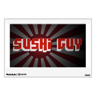 Sushi Guy Decal Room Decals