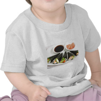 Sushi Hand Roll Gifts Tees Mugs Etc by Rick London Tees