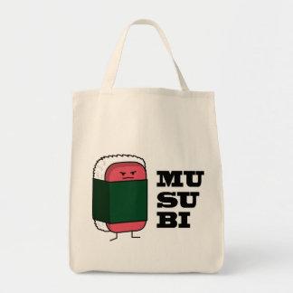 Sushi hawaiano feliz del Spam de Musubi