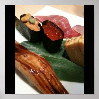 Sushi in Japan, Japanese Cuisine Print
