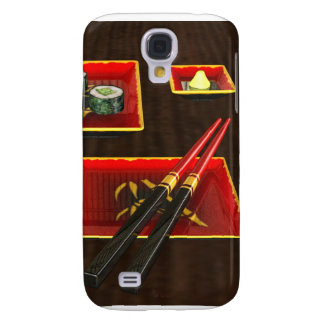 Sushi in Red Samsung S4 Case