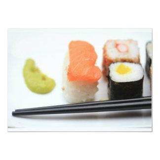 """¡Sushi! Invitación 5"""" X 7"""""""