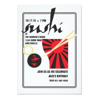 Sushi Invitation