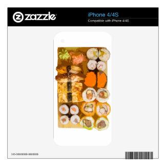 Sushi iPhone 4 Skins