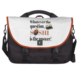 Sushi is the Answer Commuter Bag
