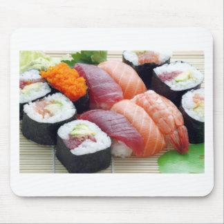Sushi Japanese Asian Food Raw Sashimi Fresh Roll Mouse Pad