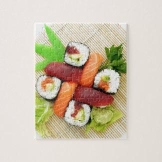 Sushi Japanese Delicious Asian Food Yummy Jigsaw Puzzle