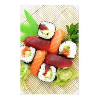 Sushi Japanese Delicious Asian Food Yummy Stationery