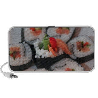 Sushi Japanese Restaurant Sauce Mini Speakers