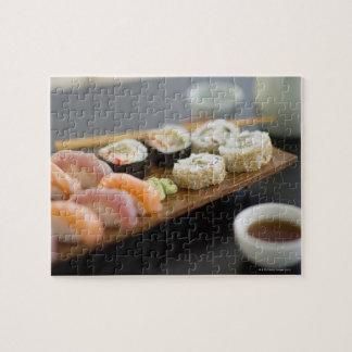 Sushi japonés tradicional rompecabeza