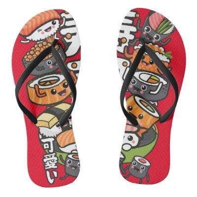a30a4ab324ae68 Cute sausage flip flops