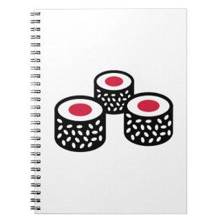 Sushi Libros De Apuntes