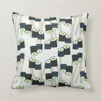 Sushi-licious Throw Pillow