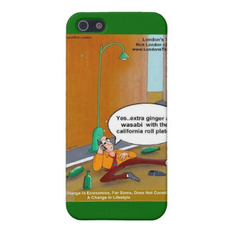 Sushi Lifestyle Changes Funny Cards Mugs Gift iPhone SE/5/5s Cover