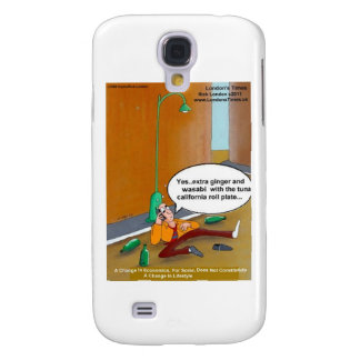 Sushi Lifestyle Changes Funny Cards Mugs Gift Samsung Galaxy S4 Cover