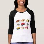 Sushi lindo remeras