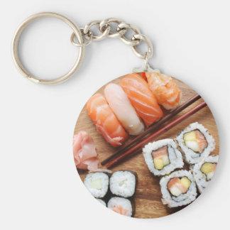 Sushi Llavero Redondo Tipo Pin