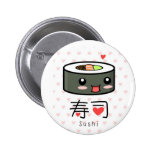 Sushi love pin