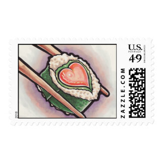 Sushi Love Postage