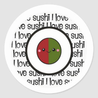 Sushi Love Stickers