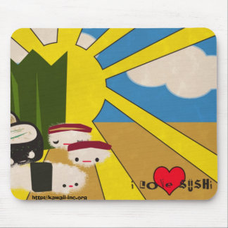 Sushi Lover Mouse Pad