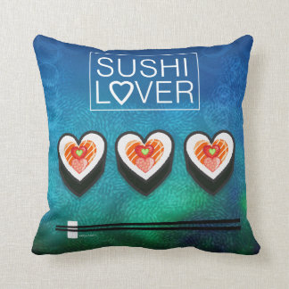 Sushi Lover Throw Pillow
