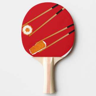 Sushi Lovers Japanese Cusine Chef Gift Ping Pong Paddle