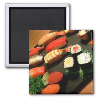 Sushi 2 Inch Square Magnet