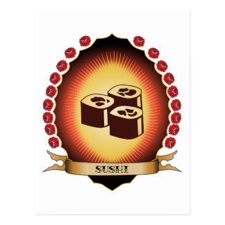 Sushi Mandorla Tarjeta Postal