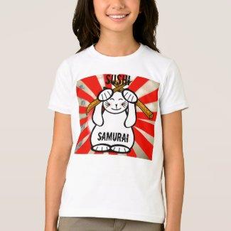 Sushi Maneki Neko T-Shirt
